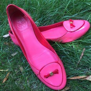 Pink Tory Burch Flats